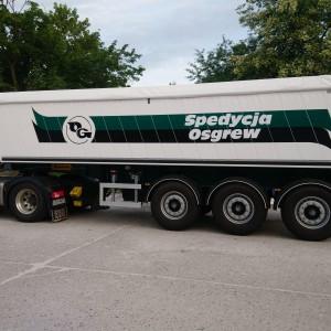 spedycja Osgrew samochód ciężarowy